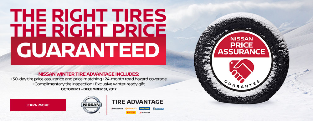 Winter Tire Specials Guelph Nissan Dealer On