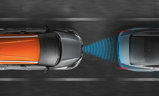 FORWARD COLLISION WARNING & INTELLIGENT EMERGENCY BRAKING
