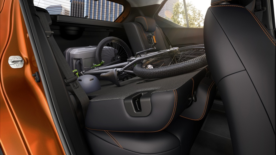 60/40 Split Folding Seats