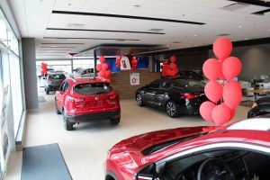 Guelph Nissan Showroom
