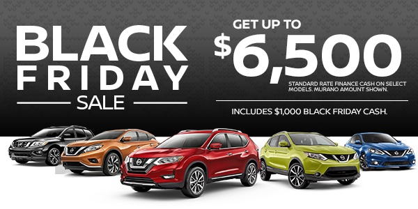 Black Friday Nissan