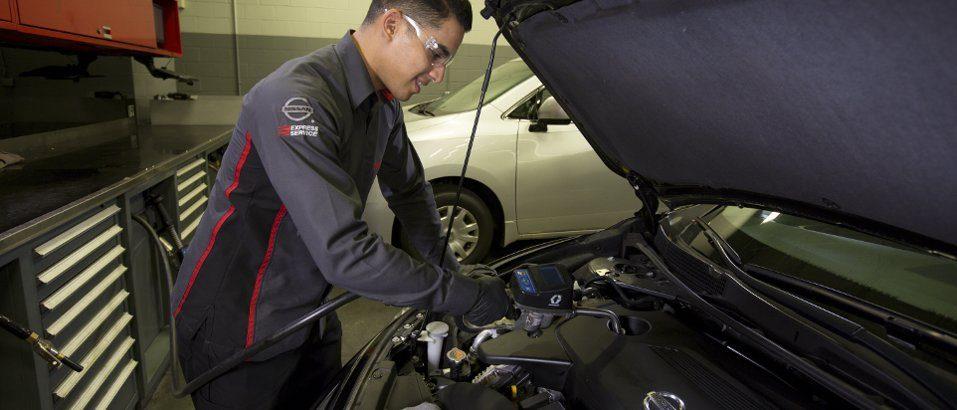 Nissan Oil Change
